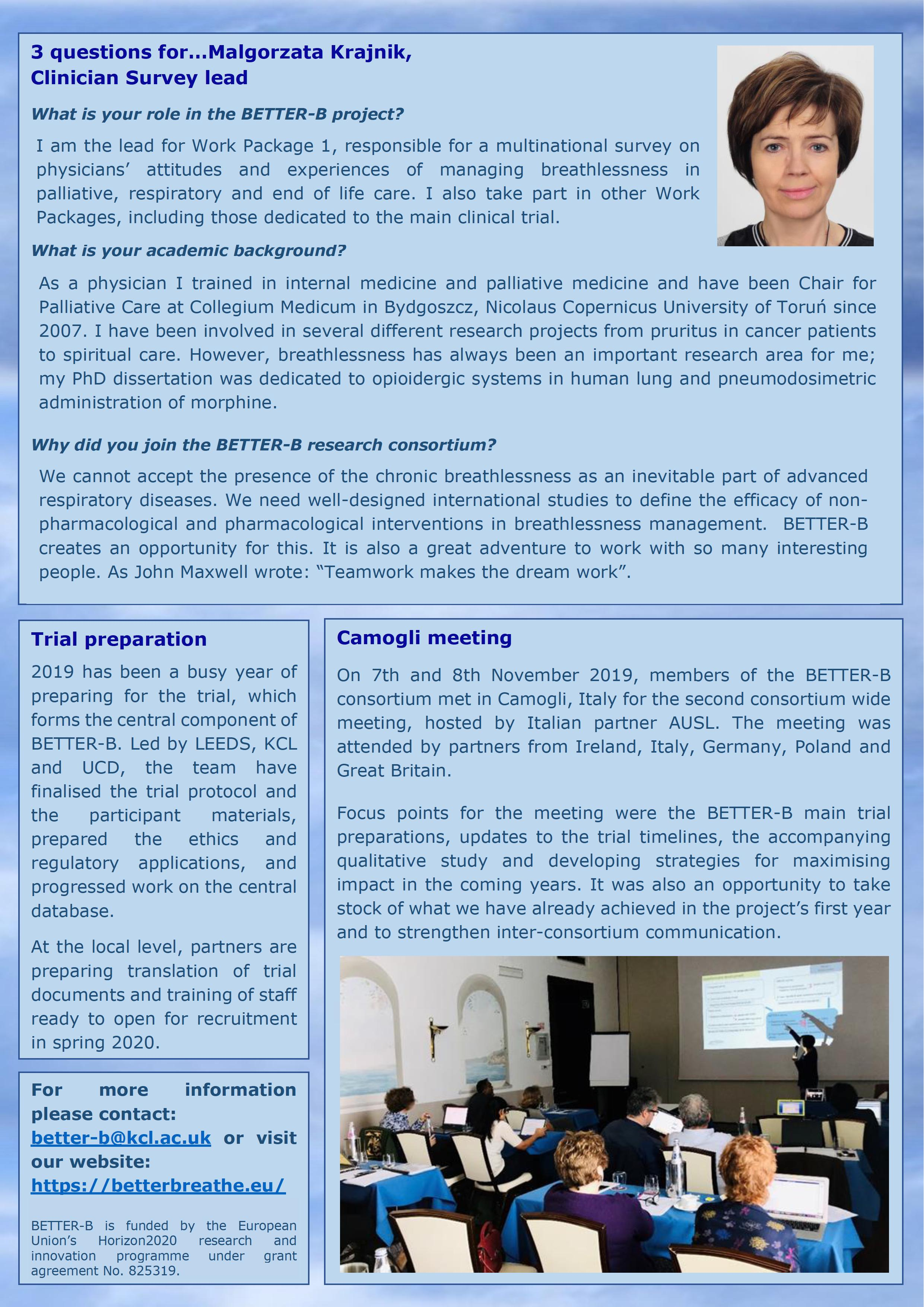 825319 BETTER-B Deliverable 7.10 Newsletter Issue 2 - 0002